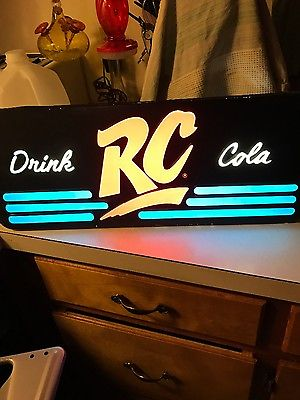Drink RC Cola sign-lit