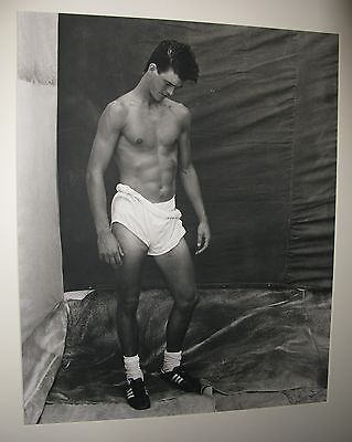 Bruce Weber signed original black and white photograph, Greg