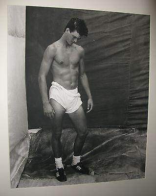Bruce Weber signed original black and white photograph, Greg
