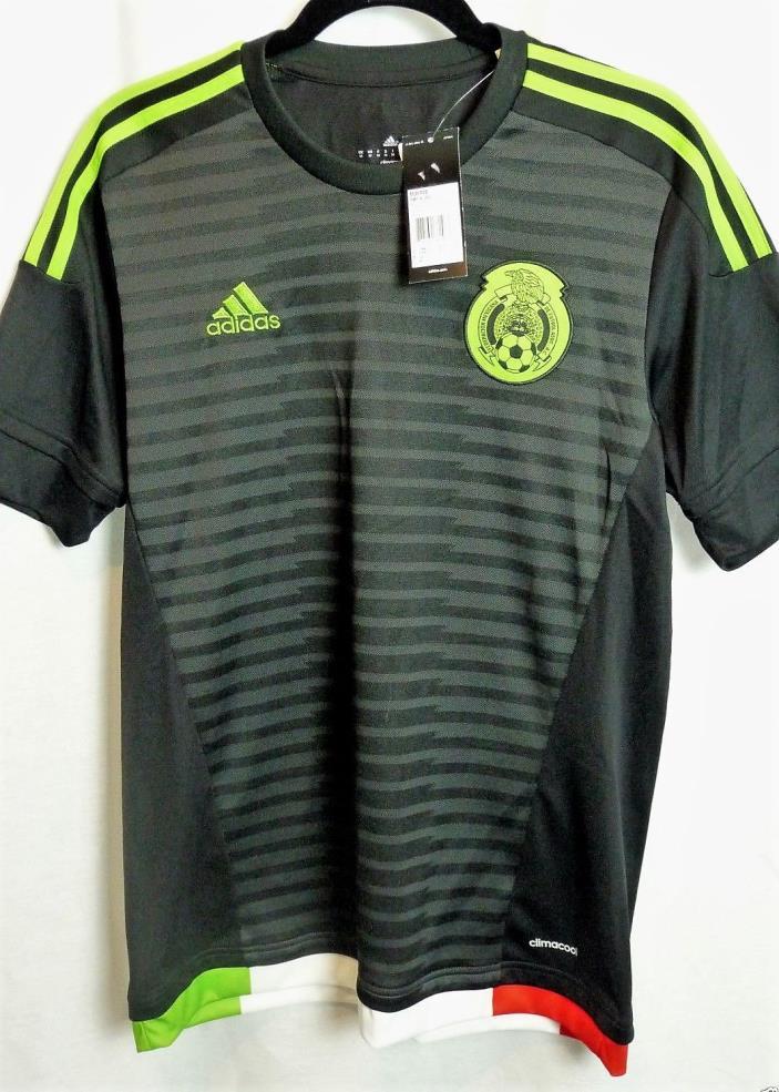 Mexico National Team black adidas soccer jersey shirt - Medium