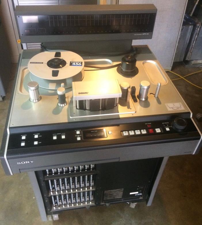 Sony APR-24 Reel to Reel Tape Machine - 24 Track Analog Tape Machine