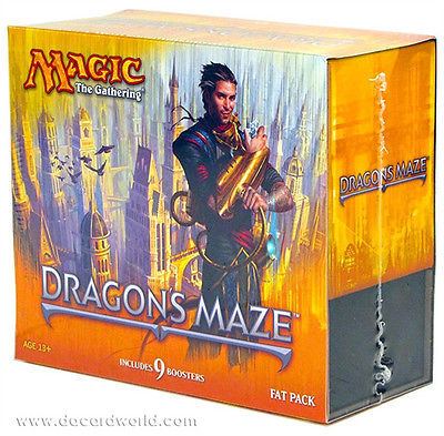 Dragon's Maze Fat Pack - Magic: The Gathering Sealed - Free Shipping!