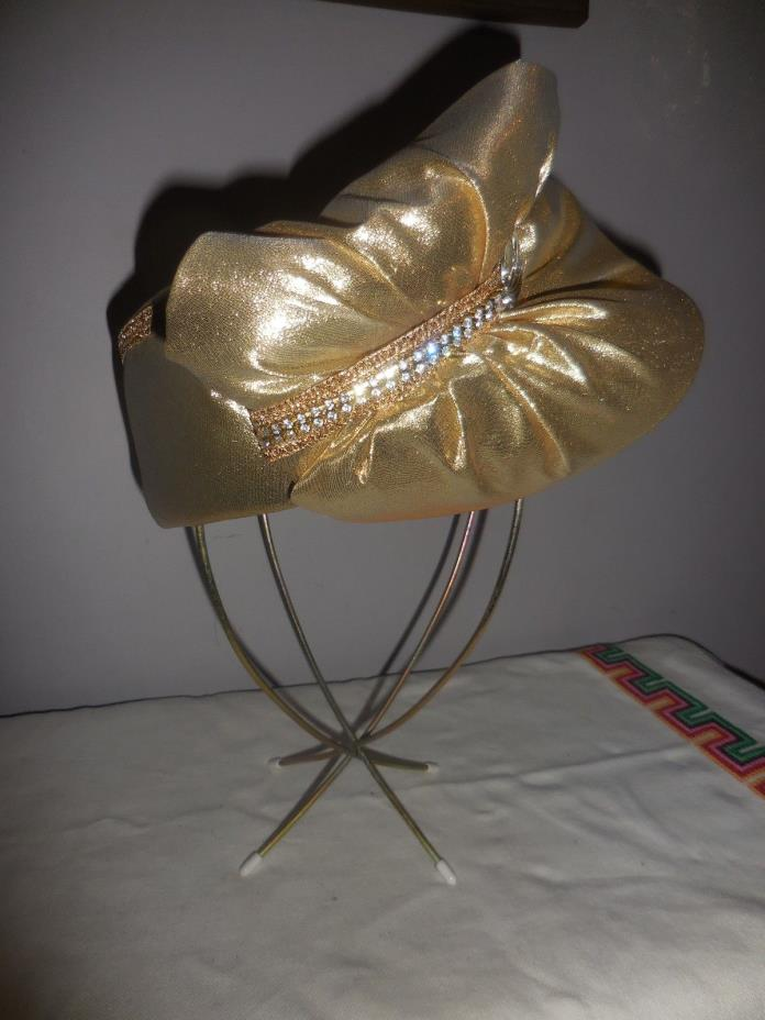 Stunning Vintage Bellini Originals Derby Hat