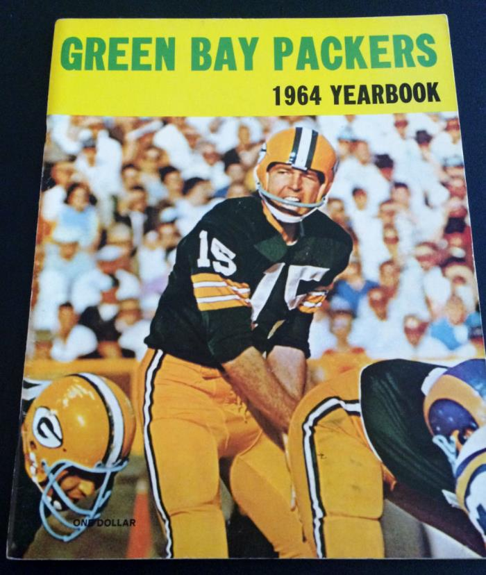 1964 Green Bay Packers Yearbook - Nice
