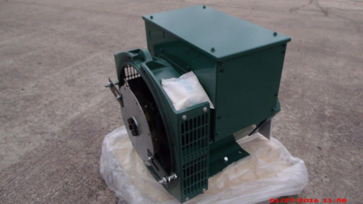 Generator Alternator Head CGG164B 11KW 1Phase SAE5 /6.5 120/240 Volts Industrial