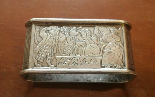 Antique Kerr Sterling Nursery Rhymes Napkin Ring