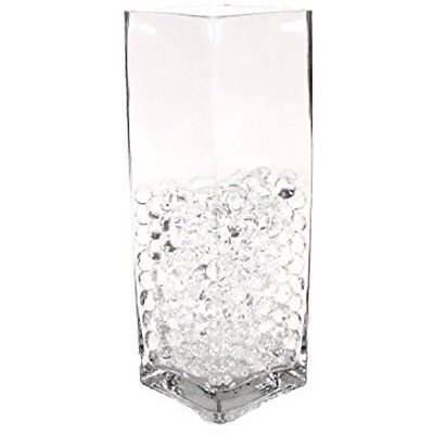 Vase Fillers Water Pearls-CLEAR-Centerpiece Wedding Tower Vase Filler-makes 6 (8