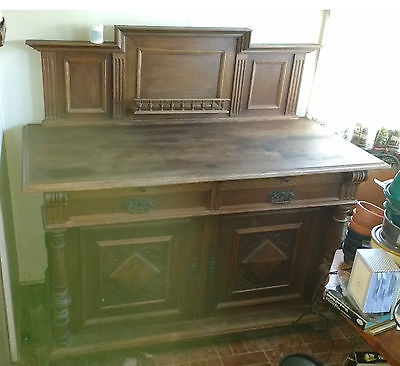 Antique Oak Buffet/Sideboard