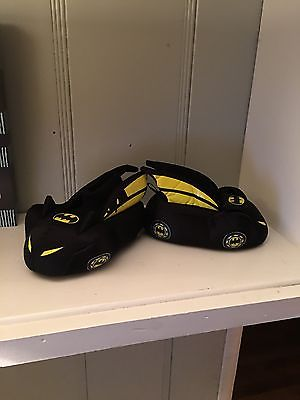Batman Toddler Boys' Batmobile Slipper Size (M7/8)