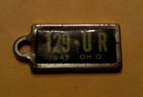 1949 Ohio Dav license plate