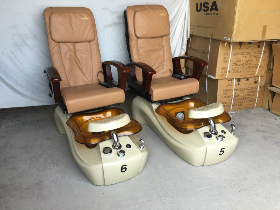 Used pedicure chairs for sale classifieds for Used salon chairs