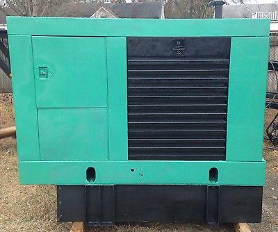 60 kw standby diesel generator set cummins onan 266 hours