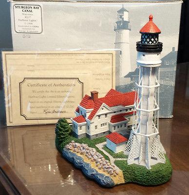Harbour Lights #217 Sturgeon Bay WI Lighthouse
