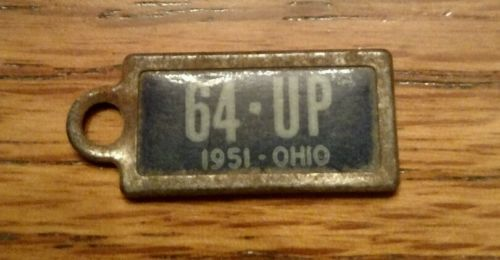 1951 Ohio Dav license plate