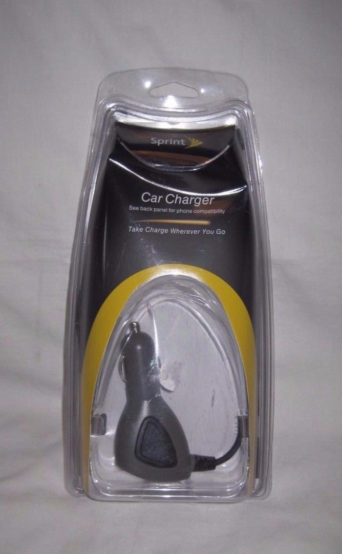 Sprint Mini USB Phone Device Car Charger Travel Auto New Open Package