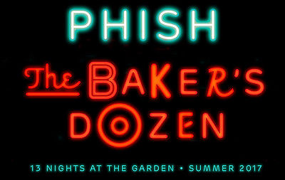 1 or 2 PHISH Section 103 8/5/17 Baker's Dozen Ticket(s) SPECIAL PRINT RUN