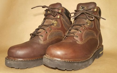 Geogia Boot Men's Brown Sz 9 Wide Gently Used