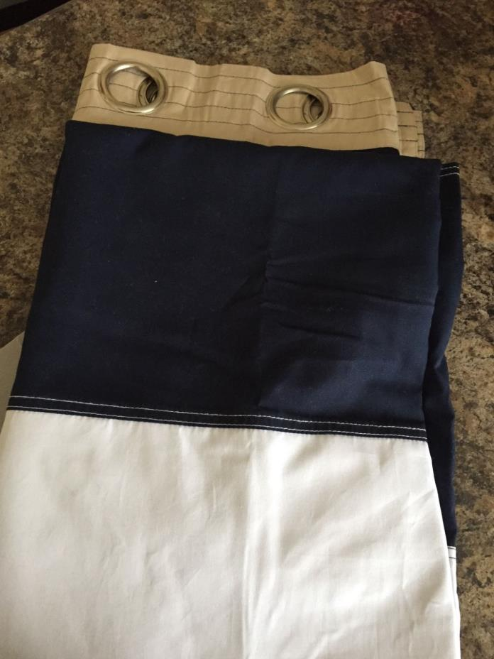 Pottery Barn Kids Curtains Navy For Sale Classifieds