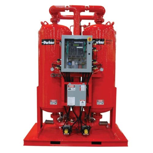 6000 SCFM Heated Purge Desiccant Air Dryer, Parker DHA6000