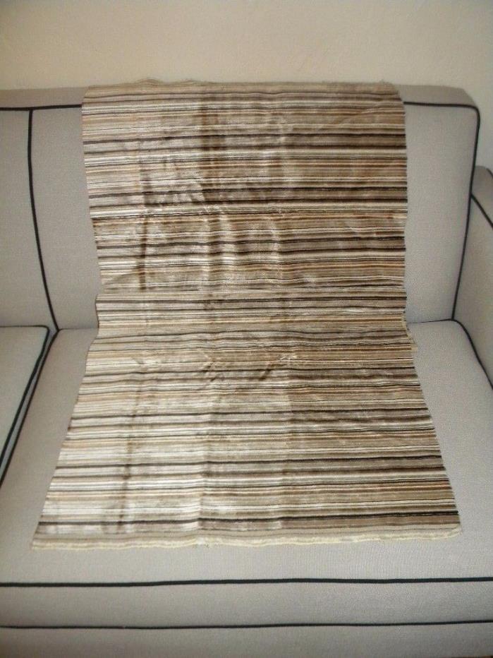 Vintage Velvet Stripe Fabric 23