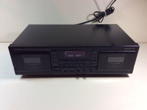 DENON DOUBLE CASSETTE DECK PLAYER DRW-580