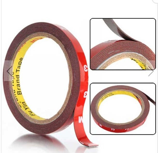 3pcs 3/8 inch Double Sided Acrylic Foam Tape For Auto