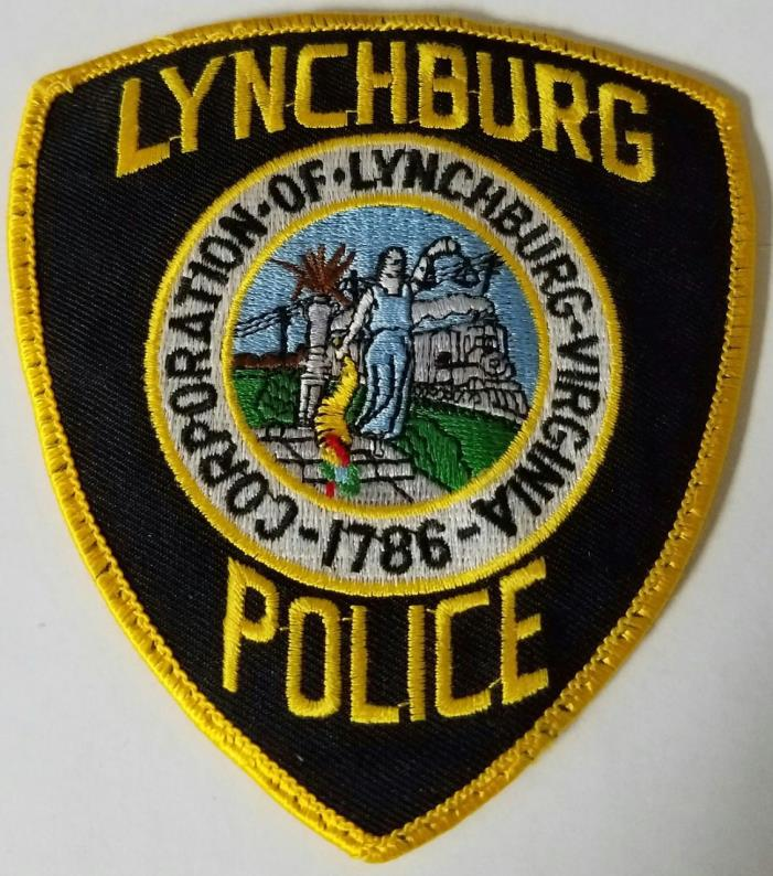 Lynchburg Virginia Police Department Cloth Patch