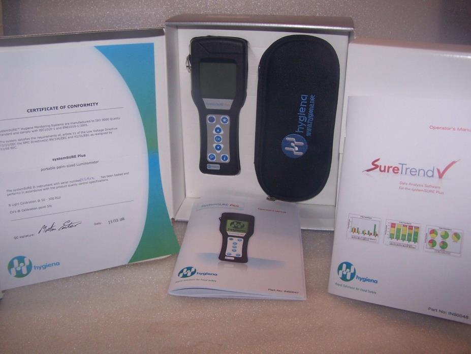 Hygiena SystemSURE Plus - ATP Hygiene Monitoring System