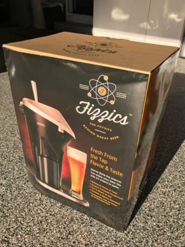 ~NEW~ Fizzics Beer System **Fresh Draft Taste**Portable Brew Dispenser