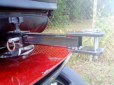 Pride sport 36 3 or 4 wheel mobility scooter/powerchair wagon/cart tow hitch