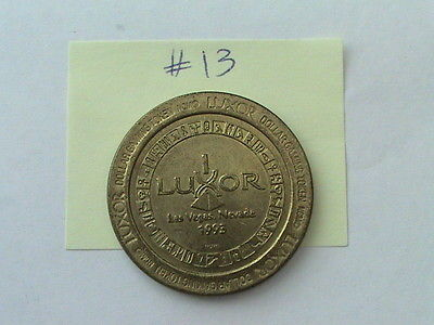 $1-GAMING TOKEN LUXOR LAS VEGAS, NEVADA 1993 *FREE SHIPPING*
