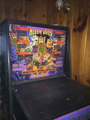williams alley cats shuffle bowling arcade game