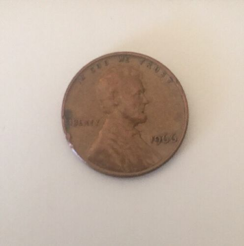 1966 Lincoln Wheat Cent Penny