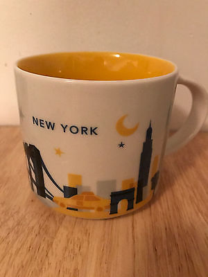 Starbucks You are Here City and State Mug: New York City, New York, USA
