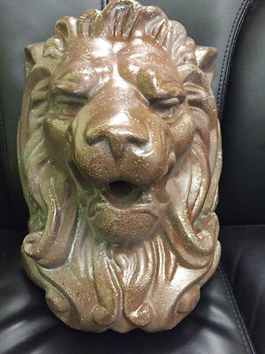 Pentair 5821105 WallSpring Monarch Lion Decorative Accent
