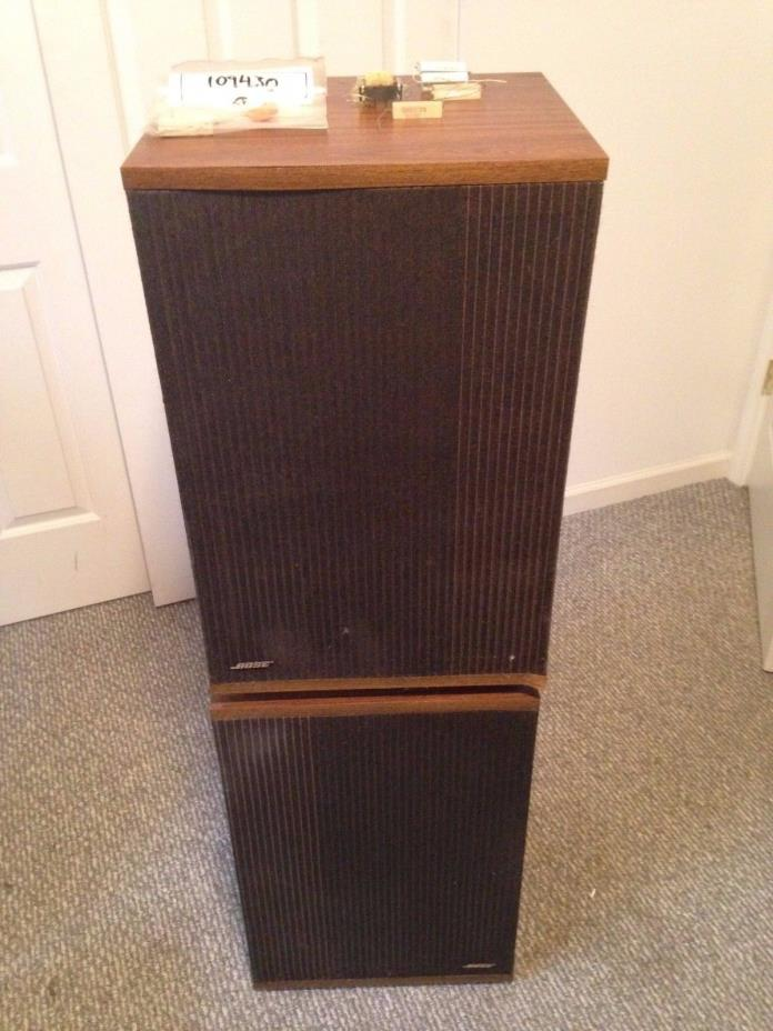 Bose 501 Series IV Direct/Reflecting Main Stereo Speakers (Pair)