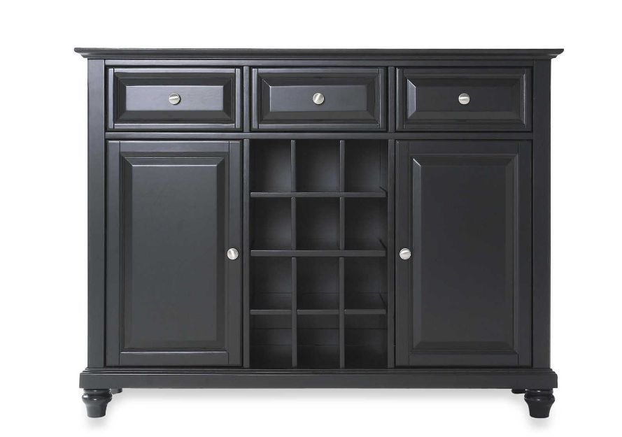 Hardwood Wood Buffet Server/Sideboard Cabinet Table Storage Kitchen Dining Home