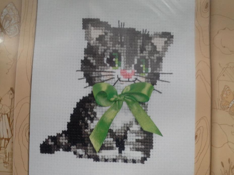 Riolis CUTE KITTEN counted cross stitch kit