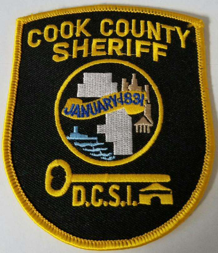 Cook County Sheriff Department of Community Supervision & Intervention Patch