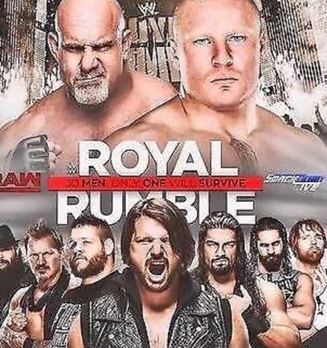 Royal Rumble Floor Seats!!! Row 17