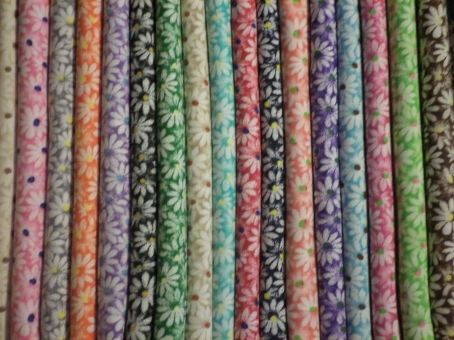 6 Asst Porta Crib baby crib or pack and play  sheet Crazy DAISY Day Care sz