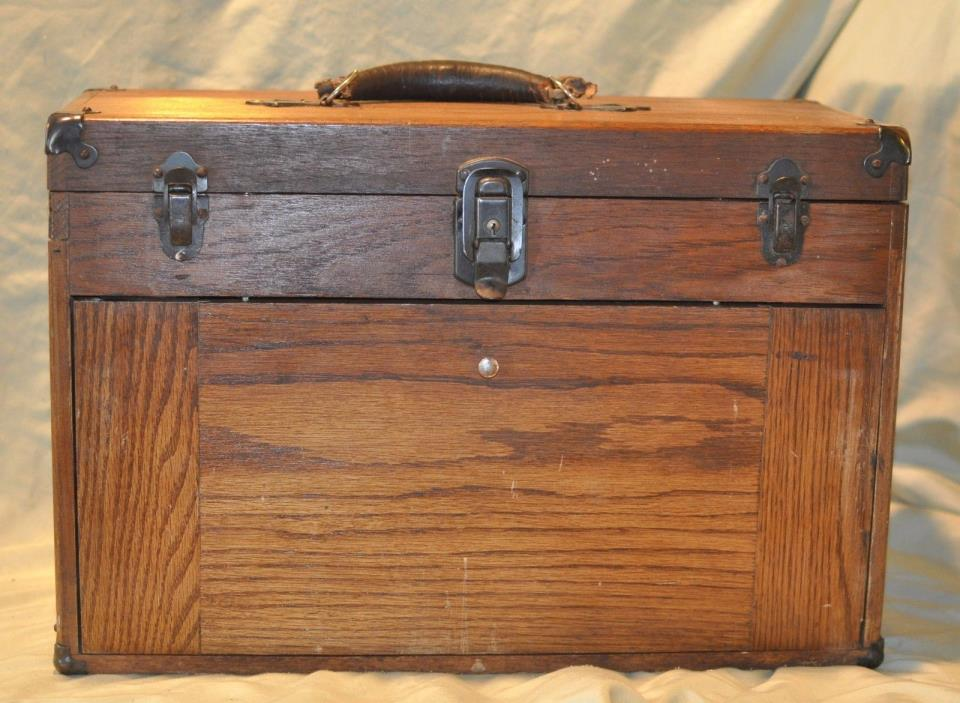 machinist wood tool box for sale classifieds. Black Bedroom Furniture Sets. Home Design Ideas