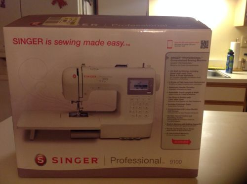 NIB Singer 9100  sewing machine
