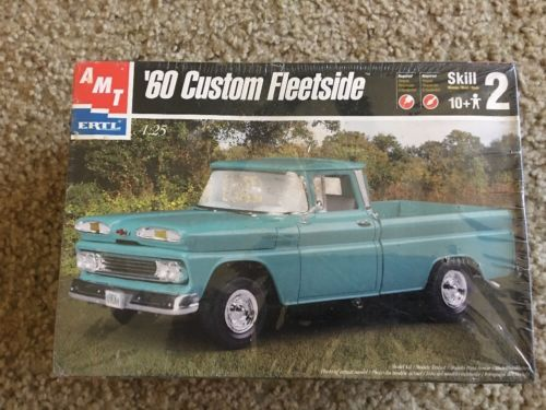 AMT Ertl '60 Chevy Fleetside Custom Pickup Truck Silverado Sealed 61 62 63 64 65