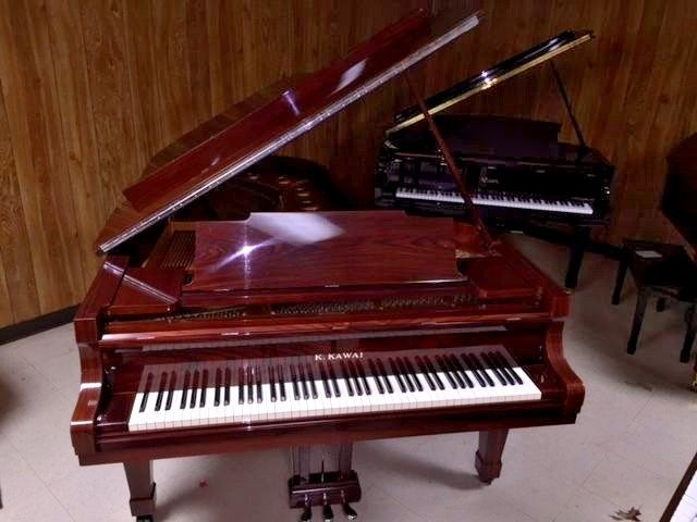 KAWAI KG-6C CONCERT GRAND PIANO With Yamaha Style Bench 7ft 4 inch GRAND! MINT!!