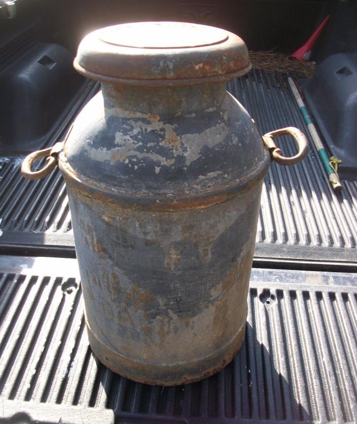 Vintage Borden's Milk Can Northern Milk Corp. Adams Dairy N.Y.