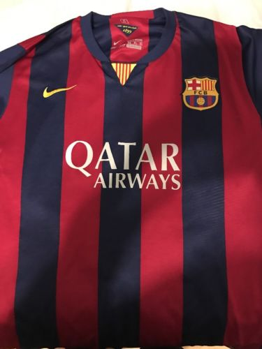Nike Barcelona Jersey Messi SZ XL Kids