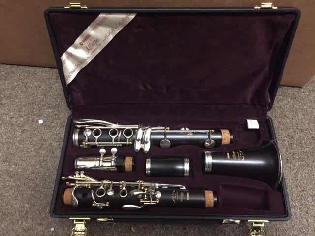 Yamaha Allegro Wood Clarinet Bb... Made in USA