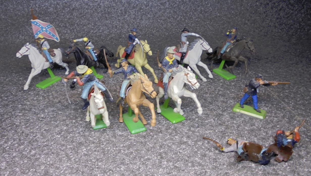 Britains Deetail Civil War mounted troops Union confederate