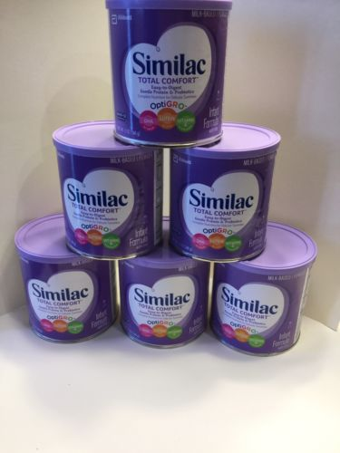 6 Cans Similac Total Comfort Purple Can 12 Oz Exp '18 Sealed Free Shipping Lot